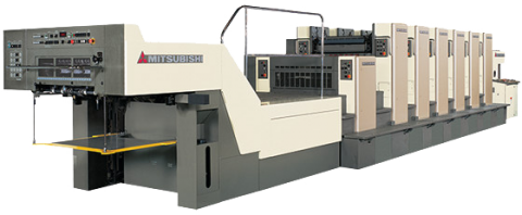 Mitsubishi Diamond 6000LS-14-6 at Carter Printing